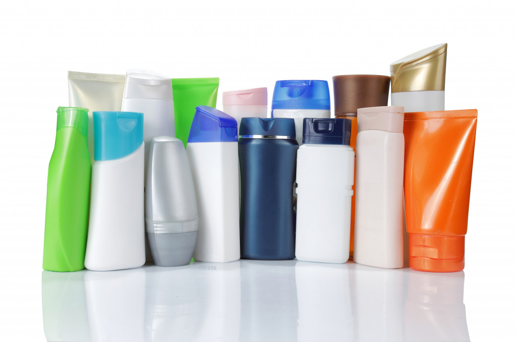 personal care products concept