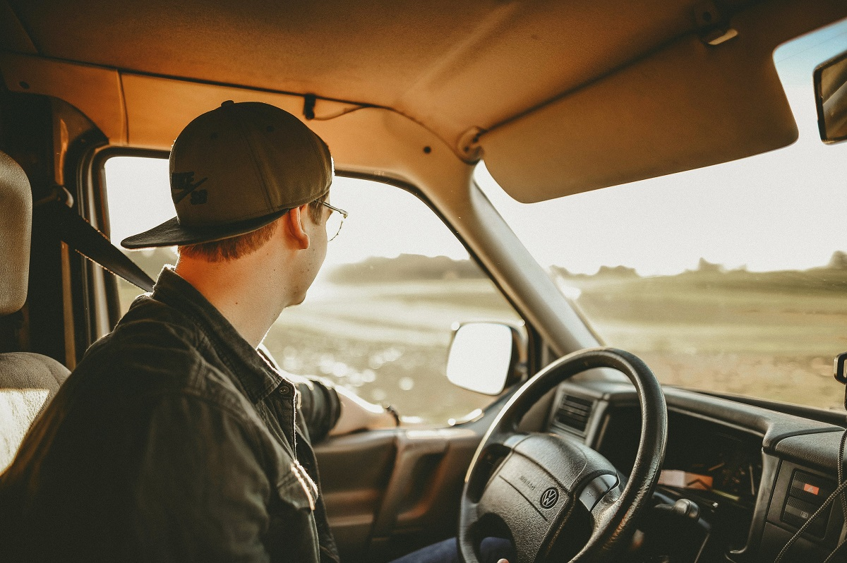 driver of a car